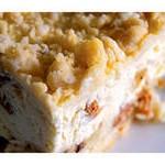 Фруктово - творожный пирог
