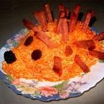 Сладкое морковное суфле