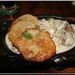Свинина с домашней колбасой по – белоруски