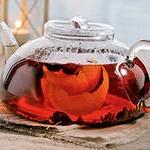 Чай с шиповником и апельсиновой цедрой
