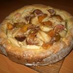 Фруктово — творожный пирог
