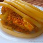 Запеканка из макарон с цветной капустой