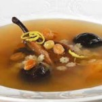 Суп из сухих фруктов с макаронами