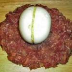 Зразы – «ёжики» с яйцом