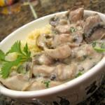 Рыбный салат под сливочно – сырным соусом