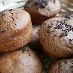 Шоколадный кекс с начинкой из творога