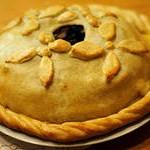 Слоёный пирог с блинной начинкой