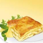 Лазанья с 3 видами сыра и базиликом (быстрая)