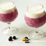 Коктейль молочно – смородиновый