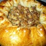 Пирог «Троицкий» с грибами