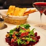 Салат с копчёной уткой