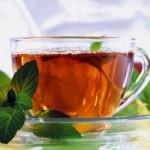 Чай из смеси мелиссы с мятой