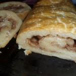 Пирожки блинчатые с изюмом