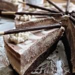 Кофейно-творожный торт