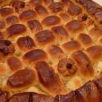 Пирог из дрожжевого теста с картофельной начинкой