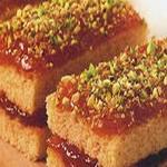 Бисквитные пирожные с повидлом