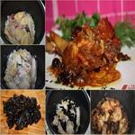 Жареная курица с черносливом