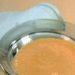 Молочный кисель с тыквой