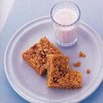 Пирог из геркулеса, с апельсиновым сиропом