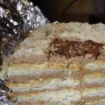 Пирожное из печенья