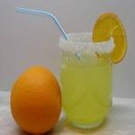 Апельсиновый напиток на минеральной воде