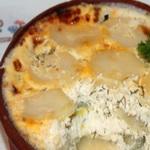 Картофель, запеченный с творогом