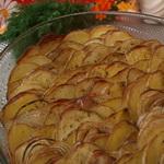 Картофель, запечённый с овощами и прованскими травами