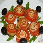 Постный картофель «серпантин»