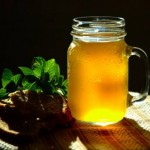 Напиток лимонный, с мёдом