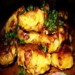 Картофельные котлеты с солёными грибами