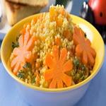 Пшенная каша с морковью и яблоками