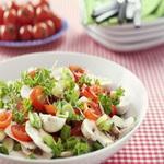 Салат из свежих шампиньонов