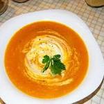 Суп – пюре из моркови