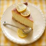 Сырный пирог с лимоном и мёдом, из печенья
