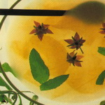 Твердый кисель из ананаса