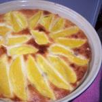 Творожная запеканка с манго