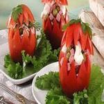 Фаршированные по – польски помидоры