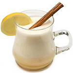 Коньяк с молоком и сливками