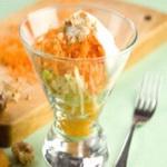 Морковно-яблочный салат со сметаной «школьный»
