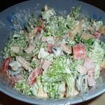 Овощной салат по-Вюрцбургски