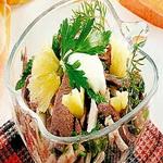 Салат из домашней птицы по Кюхенмайстеру