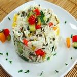 Салат с рисом по-испански