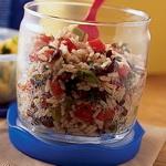 Салат с рисом по-кубински