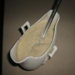 Соус сливочный на грибном отваре