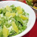 Фруктовый салат из цитрусовых