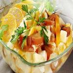 Фруктовый салат со сладким перцем
