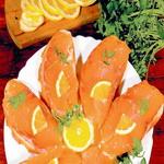 Бутерброды с красной рыбой классические