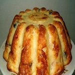 Кекс из картофеля, с изюмом