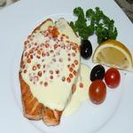 Пикантный соус с красной икрой