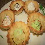 Пирожные «Корзиночки»